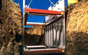Image result for An Aluminum Trench Box Can Allow Work In Trenches for Safely