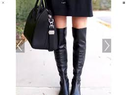 details about stuart weitzman elf over the knee boots size 7 m new without box black