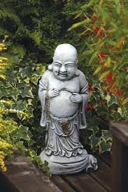 large garden buddha statue standing stone statue large garden ornament big buddha garden statues
