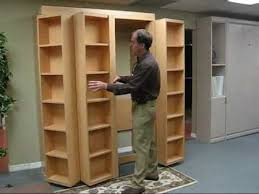 bookcase wall bed. Wonderful Bookcase Bookcase Bed Video No Music And Wall