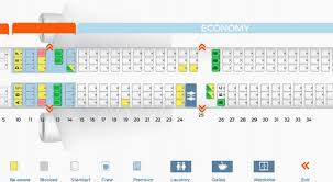 Aircraft A321 Seating Chart Airbus A320 100 200 Seat Chart Cabin Configuration V1 Seat