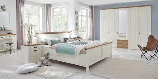 Nordic Dreams Schlafzimmer Bett Kleiderschrank Romantisch Landhaus