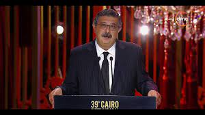 """مهرجان القاهرة السينمائي - كلمة الفنان """"ماجد الكدواني"""" المؤثرة عن صديقه  الراحل """"خالد صالح"""" - YouTube"""