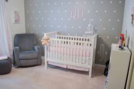 Pink, Grey, And White Nursery Pink Gray Nursery By Lauren M