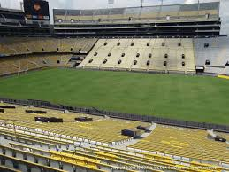 Lsu Tiger Stadium View From East Sideline 301 Vivid Seats