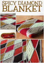 Thread Crochet Patterns New Crochet Pattern Spicy Diamond Blanket Haak Maar Rraak