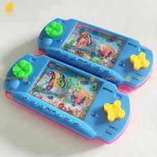 Máy bắn vòng hình điện tử chơi game cầm tay bắn vòng nước vào trụ đồ chơi  trẻ em 3 4 5 6 7 8 tuổi babyegg baby egg - Đồ chơi trong phòng
