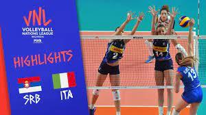 ไฮไลท์ เซอร์เบีย 1-3 อิตาลี ศึกวอลเลย์บอลหญิง เนชั่น ลีก 2019 วันที่ 30  พ.ค. 62 เวลา 01.00 น. – รายการทีวี สุดฮอท
