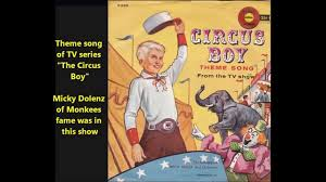 Aylmer to Zazzoo and Beyond Circus Boy Sept. 1956 Dec. 1957