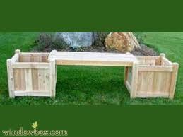 garden bench planter box. garden bench planter box x