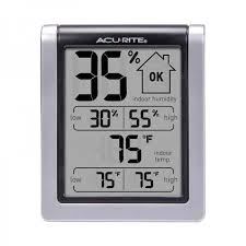 humidity gauge with temperature sensor