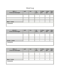 Diet Log Sheet Eating Healthy Throughout The Day Mark Anthony Santoro