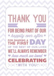 thank you to bridesmaids wording google search guest gift Wedding Favor Message Ideas wedding thank you cards sample wording tutwedding Wedding Favor Messages From Lava
