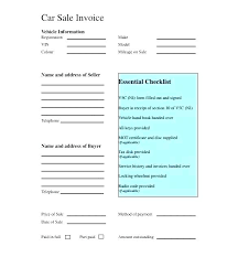 Vehicle Sale Receipt Template Car Receipt Template Club Purchase Format In Excel Lapos Co