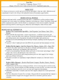 Modern Ideas Real Estate Resume Objective Resume Faculty Law