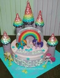 Jual Little Pony Castle Cake Kota Bekasi Little Kitchen Project