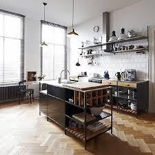 kitchen loft design ideas. design inspiration monday. kitchen industrialloft loft ideas f