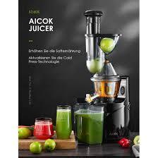 Máy ép trái cây chậm Aicok nguyên quả chính hãng,nhập khẩu đức,giá rẻ