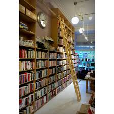 Rolling ladder provided to book shop