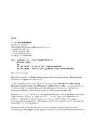 how to make a cover letter for uscis formal format sample i gallery of cover letter for uscis