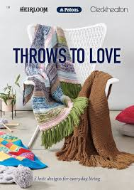 Booklet 110 Throws To Love