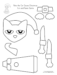 Small Picture Pete The Cat Christmas Coloring Pages Coloring Home