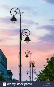 Old Fashioned Street Lights Old Fashioned Street Lights Stock Photos Old Fashioned