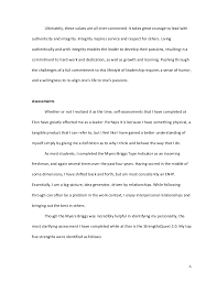 Personal Integrity Essay Magdalene Project Org