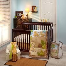 the lion king urban jungle 4 piece crib bedding set
