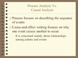causal analysis essays an introduction and overview ppt video process analysis vs causal analysis