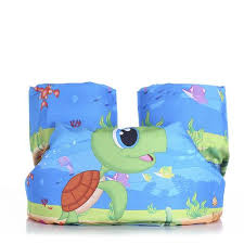 children cartoon s puddle jumper basic life jacketkids inflatable arm chest band floats flotation sleeves swim
