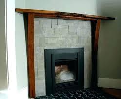 outdoor fireplace mantel diy