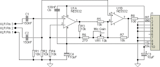 diagram ingram ultra simple microphone preamplifier ultra simple microphone preamplifier circuit diagram