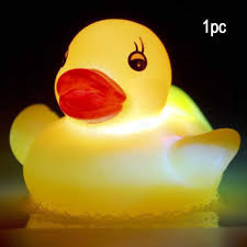 Light Up Rubber Duck Flashing Friends 5 X Flashing Rubber Duck Led Light Up Bath Tub Time Bath Toys