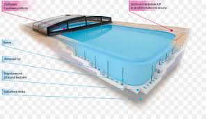 natatorium swimming pool ztracené bednění plastic formwork infinity stone