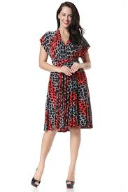 Plus Size Skirt Patterns Impressive KETTYMORE WOMEN'S MULTIWORN BOHEMIA DRESS LEOPARD PATTERN PLUS SIZE