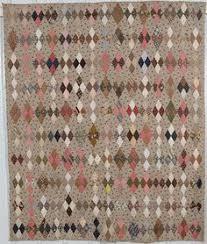 Calico Diamonds Quilt: Circa 1880; Pennsylvania … | Pinteres… &  Adamdwight.com