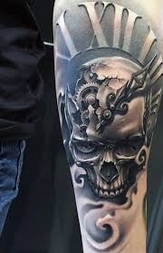 80 Clock Tattoo Designs For Men Timeless Ink Ideas Jenda Tattoo