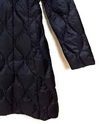 Massimo Dutti Womens Long Down Puffer Coat With