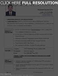 Top Best Resume Format Resume Work Template