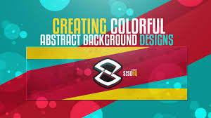 Youtube Photoshop Design Photoshop Tutorial Creating Colorful Abstract Background Designs