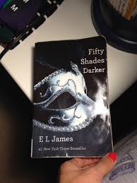 cover of fifty shades darker book by e l james part of fifty shades of grey trilogy