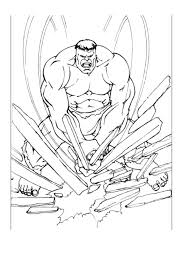 Here is one of the popular cartoon series, hulk. Hulk To Color For Children Hulk Kids Coloring Pages