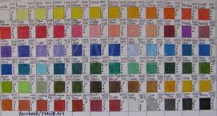 Lyra Rembrandt Polycolor Colour Chart First Impressions Of Lyra Rembrandt Polycolor Colored