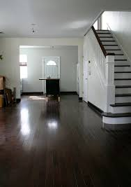 dark wood baseboards and floors do i paint the trim white or let it be dark