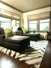 faux zebra rug animal skin rugs home
