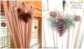 Diy No Sew Curtains Diy No Sew Window Treatments Curtains And Burlap Bow Chair Cover