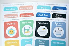Bedtime Chart Printable The Best Morning Bedtime Routine Chart That Keeps Kids On Task