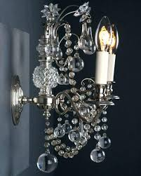 brushed nickel crystal chandelier image of and mini