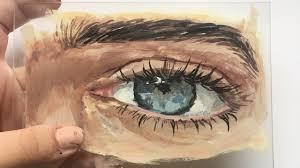 eye painting on glass ema sivac